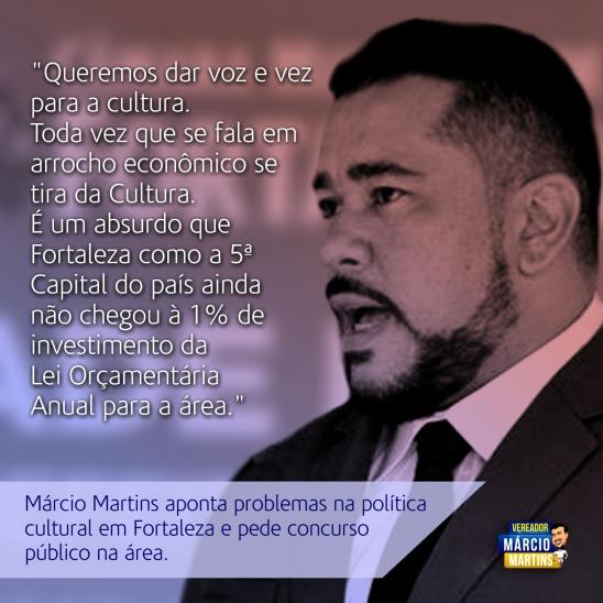 Márcio Martins - Vereador e Amante da Cultura.
