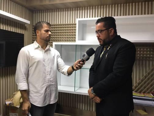 Márcio Martins: entrevista do jornalista Ravi Porto, da TV Cidade.